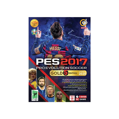 PES 2017 GOLD 5 EDITION 1DVD9 گردو